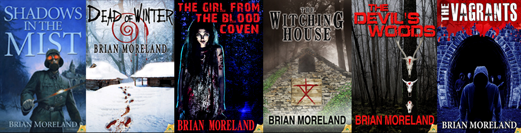 Brian Moreland All Books horizontal band