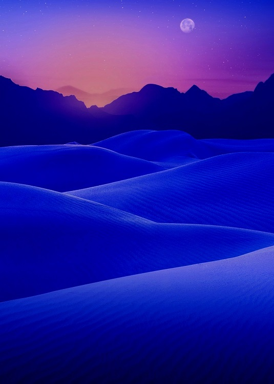 Blue-Desert-Sunset-iphone-6-wallpaper-ilikewallpaper_com3